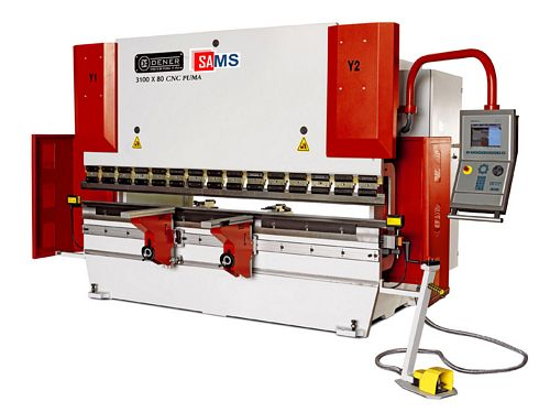 Sams Dener DMP PUMA 80-26 CNC Hydraulic Press Brake