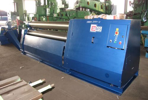 Sams B3 2628 3-Rolls Double Pinch Plate Bending Machine