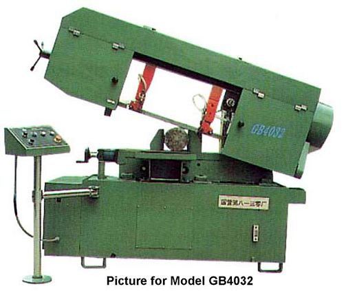 China GB4025 Semi-Automatic Bandsaw
