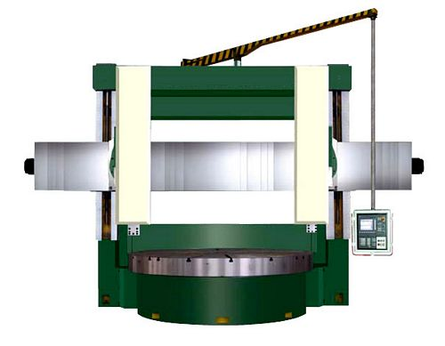 China CK5240/2 CNC Double Column Vertical Borer
