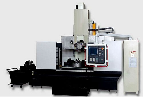 China CK5112E (Semi-Closed) CNC Single Column Vertical Lathe