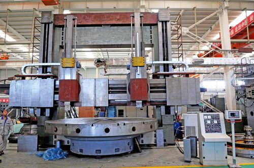 China C5250x31/50 Double Column Vertical Lathe