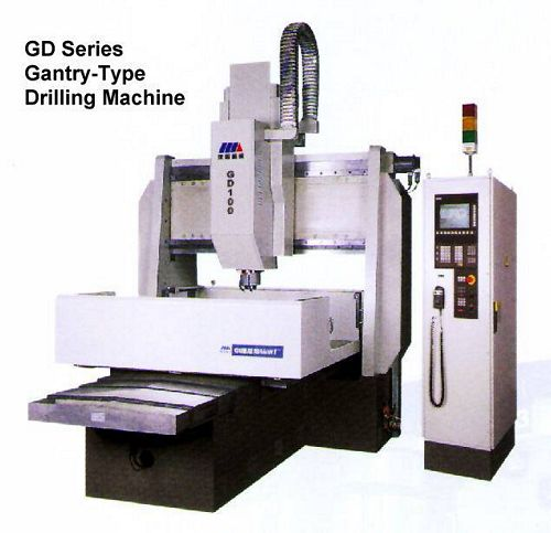 China GD100x12 CNC Gantry-Type Drilling Machine