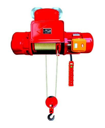 China CD Type 10 Ton x 9m Single Speed Wirerope Electric Hoist