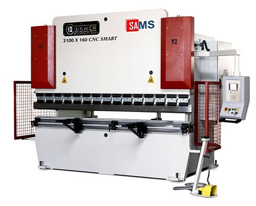 Sams Dener DMP SM 120-36 CNC Hydraulic Press Brake