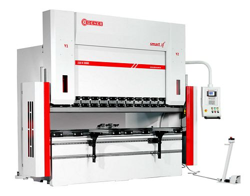 Sams Dener SMART XL 2650mm x 135 Ton CNC Hydraulic Press Brake