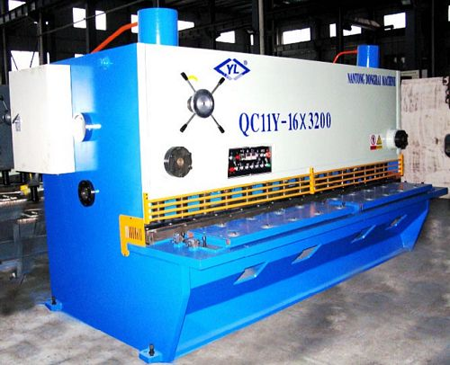 China QC11Y-16x3200 Guillotine Shear