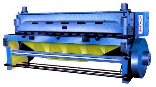 China Q11-6x2500 Mechanical Guillotine