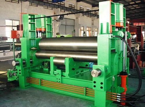 China TXW11S-20x3000 Three Roller Plate Bending Machine