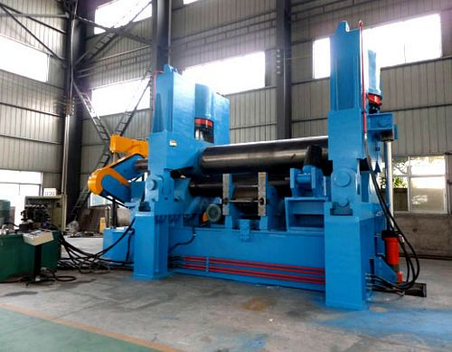 China TXW11S-45x4000 Three Roller Plate Bending Machine