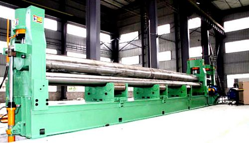 China TXW11S-8x6000 Three Roller Plate Bending Machine