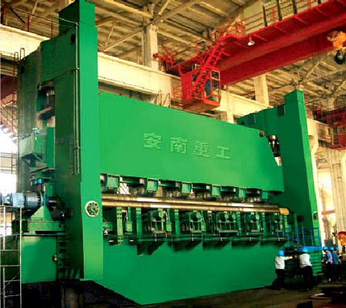 China TXW11-30x12500 Three Roller Symmetrical Plate Bending Machine