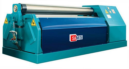 Sams B4 2528 4-Roll Double Pinch Plate Bending Machine