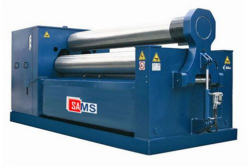 Sams B3 3158 Synchronized 3-Roll Double Pinch Plate Bending Machine