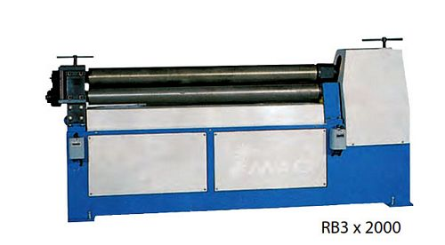 China RB-4x1600 3-Roller Bending Machine