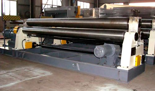 China W11-4x2100 Mechanical Plate Bending Roll