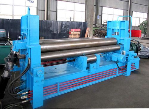 China W11S-6x2000 Universal Plate Bending Roll