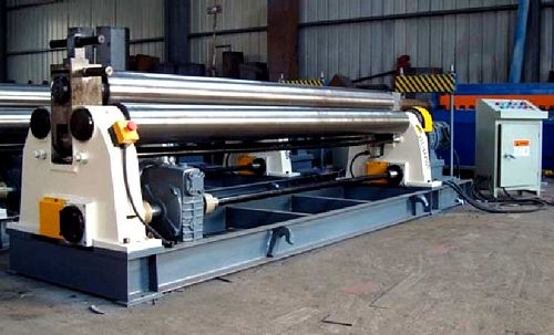 China W11-4x2000 Mechanical Plate Bending Roll