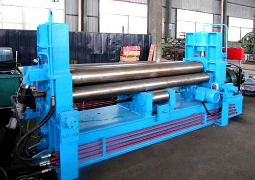 China W11S-6x2000 Plate Bending Roll