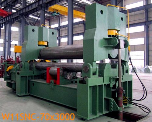 China W11SNC-60x3000 Plate Bending Roll