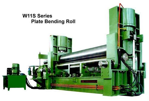 China W11S-100x3000 Plate Bending Roll