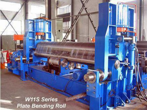 China W11S-25x2000 Roll Plate Bending Machine