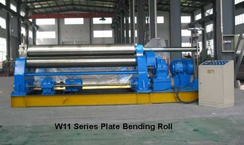 China W11-10x2500 Plate Bending Roll