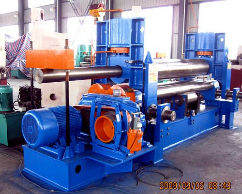 China W11S-12x4000 Plate Bending Roll