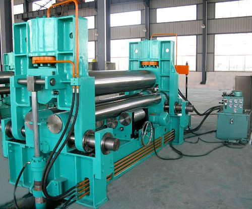 China W11SNC-25x2000 Plate Bending Roll