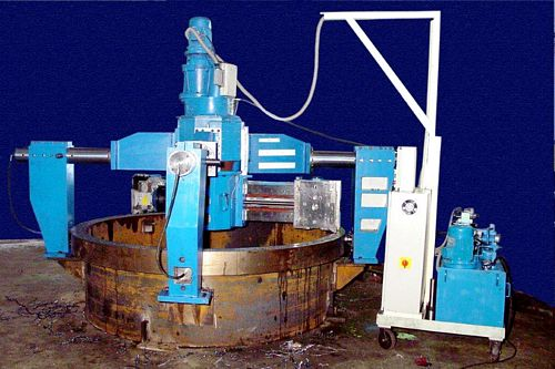 India FF1500 OD Clamping Portable Facing Machine