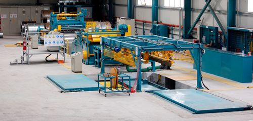 Italy CL-3x1600 Coil Cut To Length Line Machine