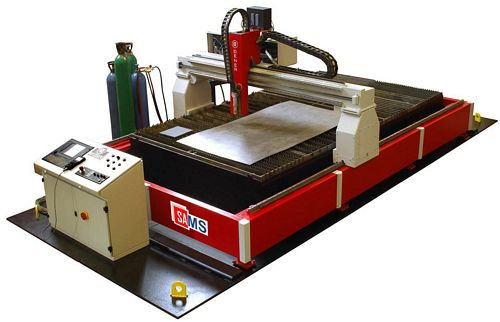 Sams Dener PL 40200 CNC Plasma Cutting Machine