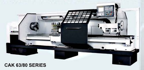 China CAK63135i Flat Bed CNC Lathe