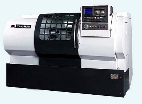 China CAK3665Di Flat Bed CNC Lathe