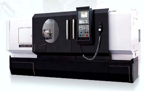 China CAK50135j Flat Bed CNC Lathe