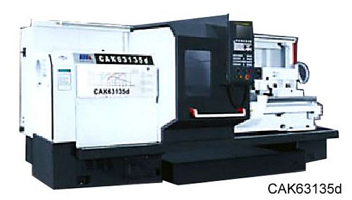 China CAK6385 Flat Bed CNC Lathe