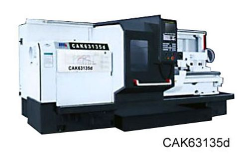 China CAK63135 Flat Bed CNC Lathe