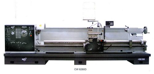China CW6263D/2000 Gap-Bed Lathe