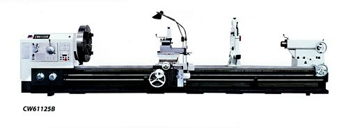 China CW61125B/3000 Straight Bed Lathe