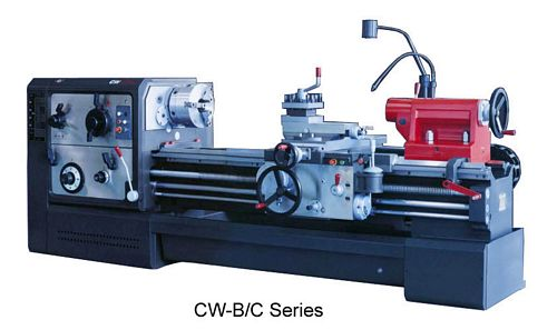 China CW6180C/5000 Straight Bed Lathe (New Design)