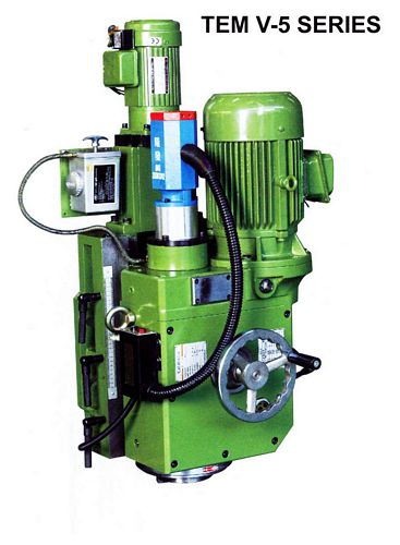 China TEM-V5C Auto Feed + Pneumatic Locking Milling Head