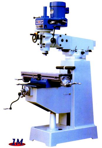 Taiwan 1M Vertical Turret Milling Machine