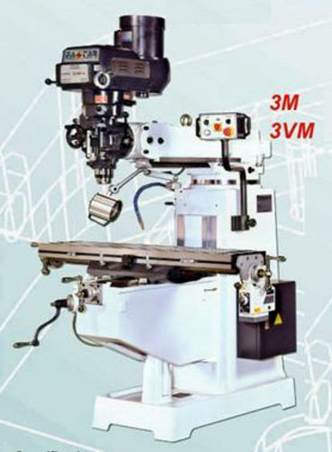 Taiwan 3M Vertical Turret Milling Machine