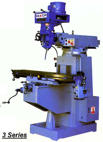 Taiwan 3M-ISO40 Vertical Turret Milling Machine