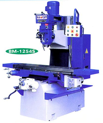 Taiwan BM-1254S Bed Type Milling Machine