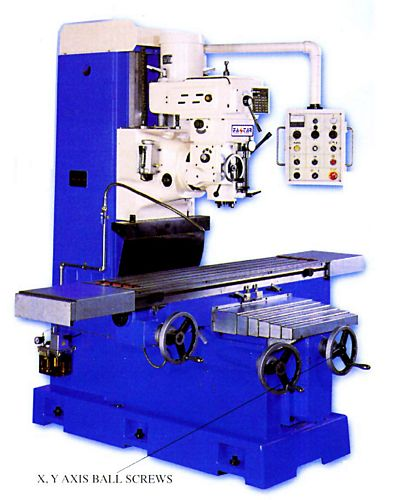 Taiwan BM-1357T Bed Type Milling Machine