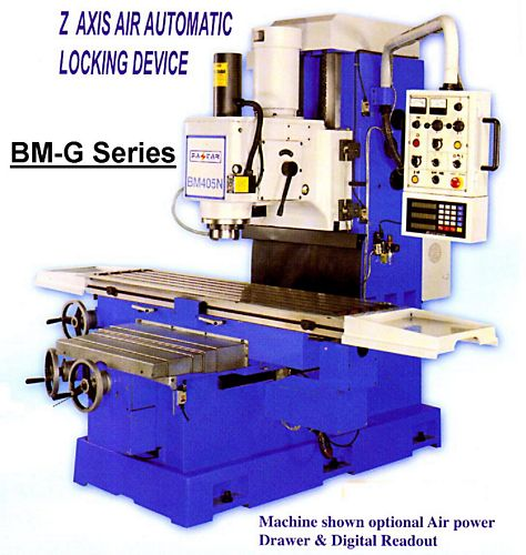 Taiwan BM-1357G Bed Type Milling Machine