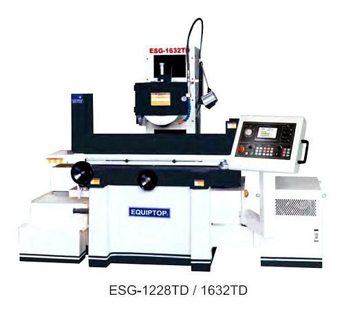 Taiwan ESG-1236TD Precision Automatic Surface Grinder